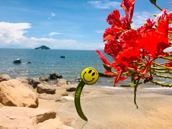 De Tourism Friendly smiley aan het Malawimeer