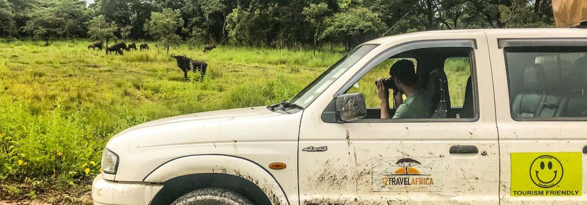 De 1 2 Travel Africa auto op safari in Malawi