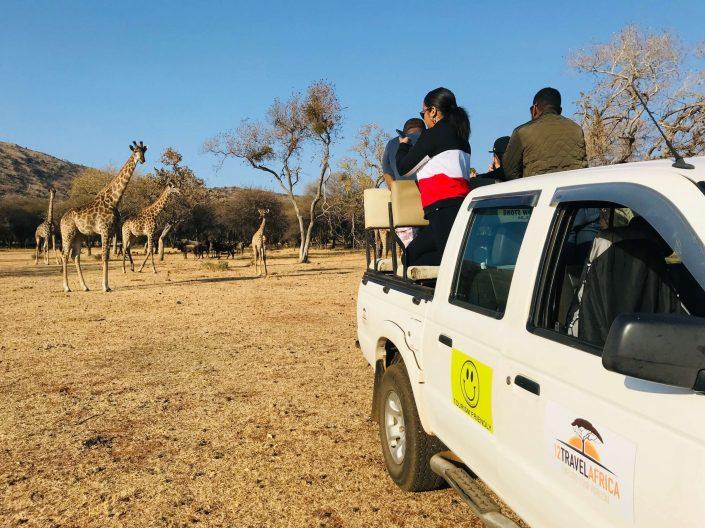 Onze wagen is ook trots bekleed met het Tourism Friendly logo