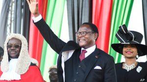 Nieuwe President Chakwera