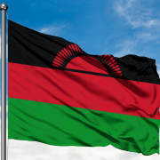 De vlag van Malawi