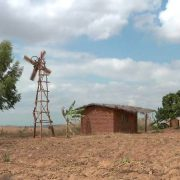 Malawi village windmill