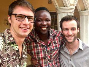 De gidsen in Malawi